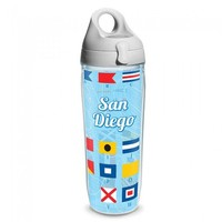 Фото Термобутылка Tervis 700 мл California Nautical Flag San Diego T107
